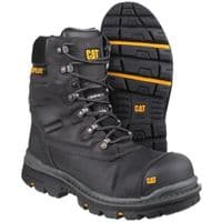 Caterpillar Premier Boots Safety Black